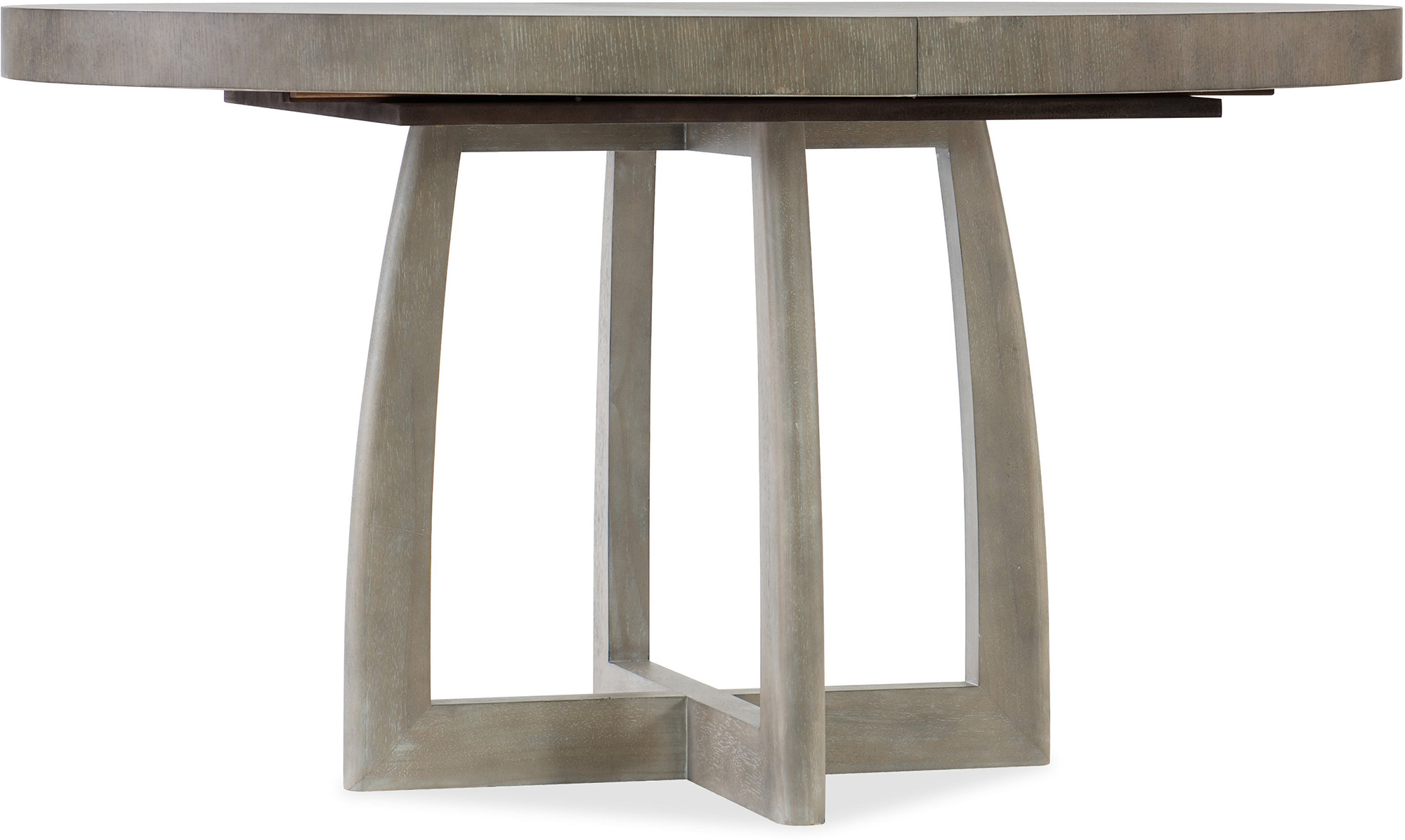 Affinity Round Dining Table With Leaf Gdc Home