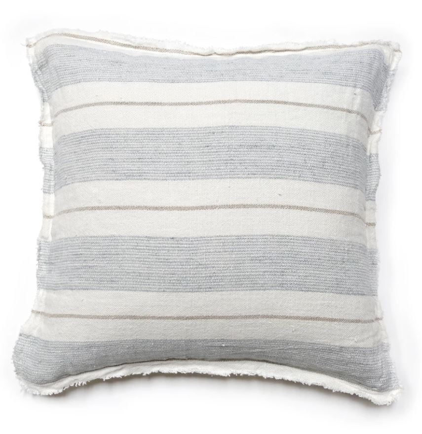 Striped laguna bed pillow