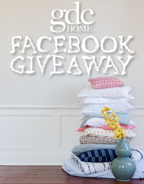 GDC Home giveaway on Facebook