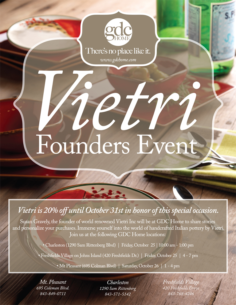 Vietri Sale and Signing Event