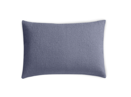 lapis blue pillow sham