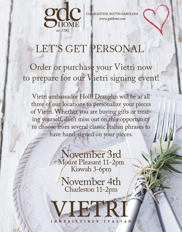 Vietri Ambassador Signing Event