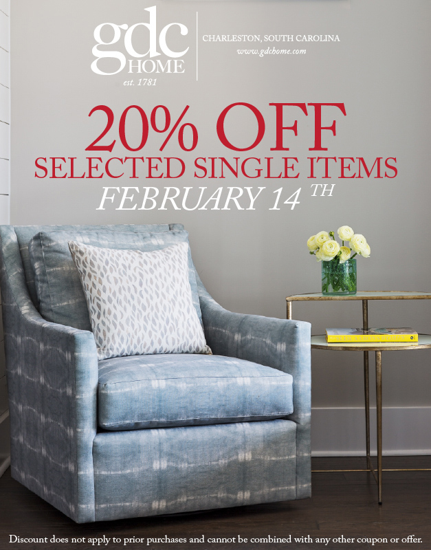 Single no more: Select items 20% off this Valentine's Day