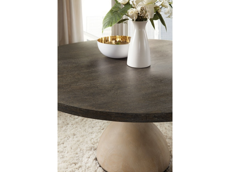 Botticelli modern round dining table from charleston sc furniture store