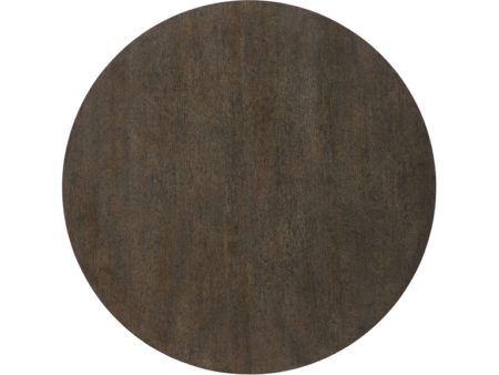 tabletop view of botticelli round dining table